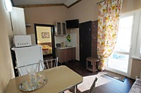 Двухкомнатные апартаметны с кухней и террасой в коттедже